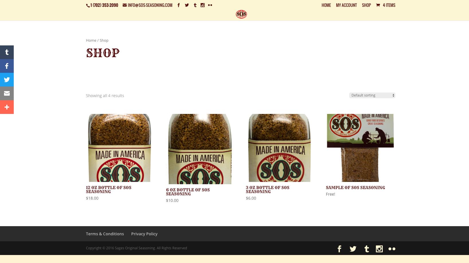 SOS Seasoning Shop