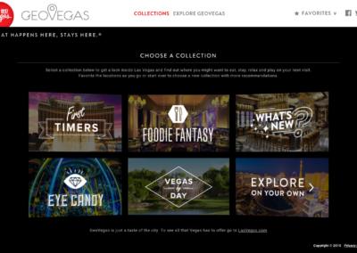 GeoVegas Home Page (desktop)