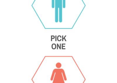VegasID Choose Your Gender